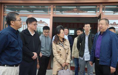 中央党校经济学部领导一行到公司调研