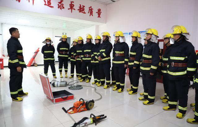 yabo亚博体公司开展消防安全技能培训